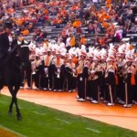 CAROLINE EMERY AND AMAZING GRACE (TRAINED BY CAT DYE) THRILL THE UT HOMECOMING CROWD AT NEYLAND STADIUM BEFORE 105,000 PEOPLE ON A BEAUTIFUL SATURDAY AFTERNOON