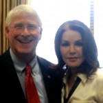 PRISCILLA PRESLEY MAKES THE CASE WITH SENATOR ROGER WICKER (R-MS) OF MISSISSIPPI – TO SUPPORT THE PAST ACT TO STOP SORING OF TENNESSEE WALKING HORSES