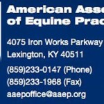 AAEP (AMERICAN ASSOCIATION OF EQUINE PRACTITIONERS) STRONGLY OPPOSES REPRESENTATIVE BLACKBURN'S ALTERNATIVE BILL HR 4098 – LESS THAN 2% OF CONGRESS SUPPORTS BLACKBURN'S HR 4098