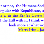 "PART FIVE (WHY WON'T THE HSUS JUST COME CLEAN?)  ""WHY THE PAST ACT DIDN'T MAKE IT?""   IT'S TIME FOR SOME STRAIGHT ANSWERS FROM CONGRESSMAN ED WHITFIELD (R-KY)  AND THE HUMANE SOCIETY OF THE UNITED STATES"
