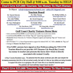 Don't Give $25,000 Tourism Tax Money To Hurt Horses – Come to Panama City Beach City Hall @ 9:00 a.m. Tuesday to HELP.