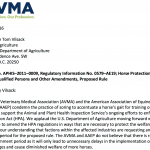 "AVMA/AAEP Follows Lead Of Citizens Campaign Against ""Big Lick"" Animal Cruelty In Opposing 60 Day Extension For Approval of Federal Regulation To Abolish ""Big LIck"" Animal Cruelty"