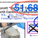 "Over 50,000+ Persons Sign Change.Org Petition To Cancel & Ban Asheville ""Big Lick"" Show – Listen To The ""Big Lick"" Prison Blues – Plans To Protest ""Big Lick"" At Asheville, And Then On To 2016 NC State Fair"