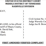 "First Amendment/Civil Rights Amended Complaint,  Seeking Punitive Damages,  Names Horse Show Manager, Ring Master And ""Big Lick"" Videographer/Propagandist As Additional Defendants"